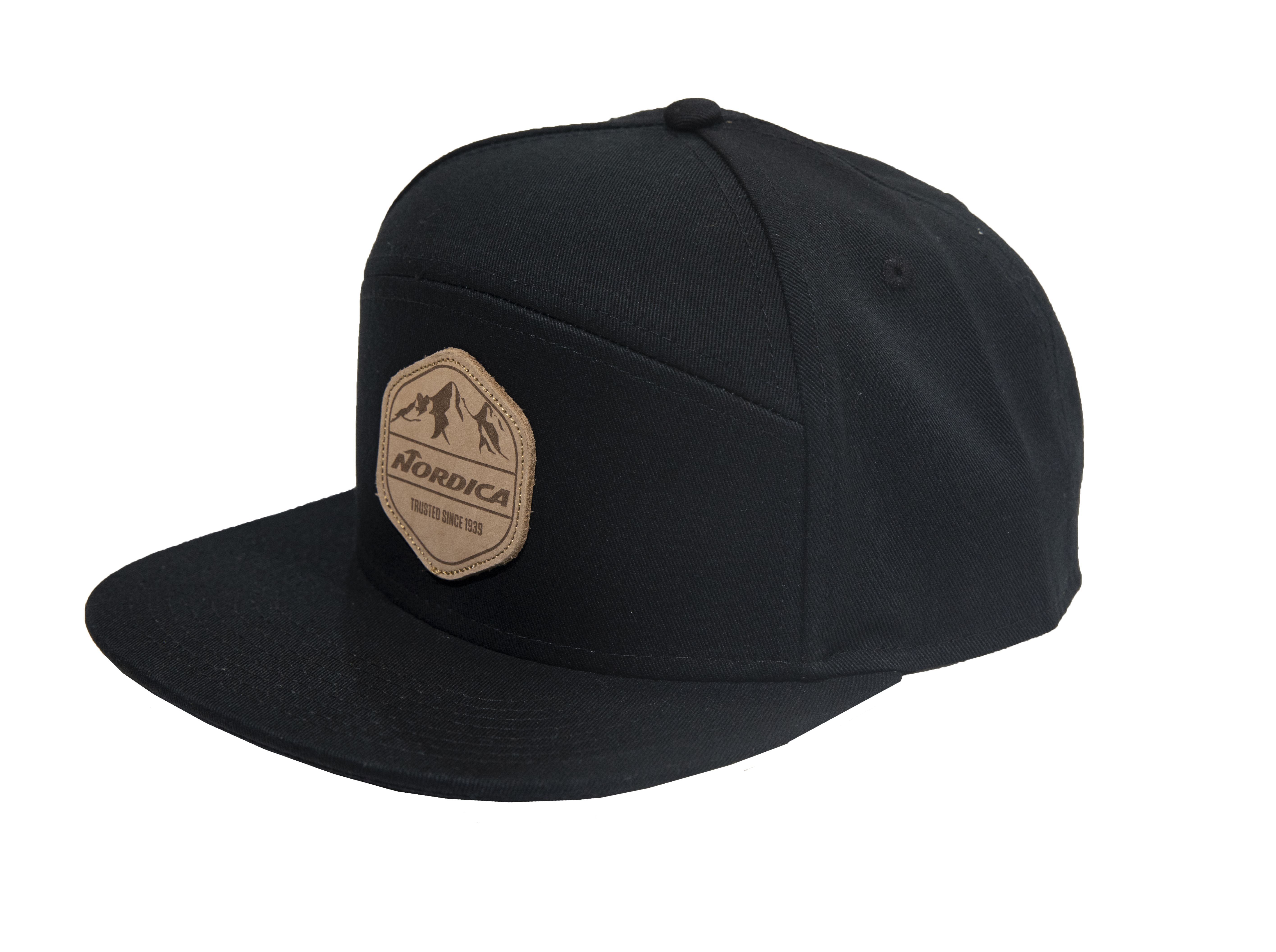 NORDICA LEATHER PATCH HAT